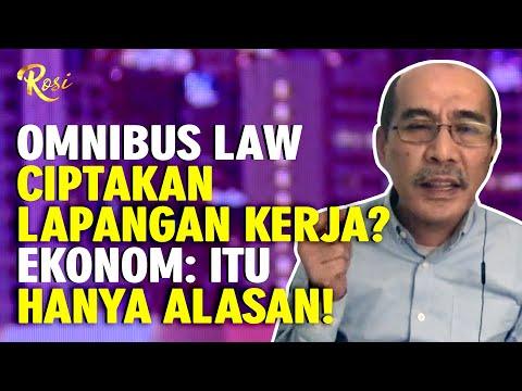 ekonom pertanyakan alasan omnibus law dibuat - rosi