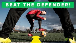 Learn the most effective dribbles   5 simple football skills