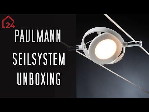 Paulmann Seilsystem Halogen und LED Komplettset