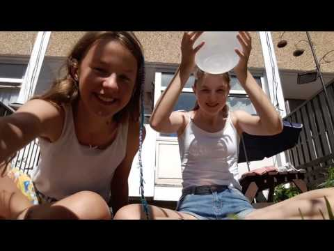 The als ice bucket challenge with bloopers
