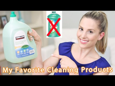 My Favorites Cleaning Products (All Green)