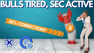 Bitcoin Bulls on a Break, 30% DROP? KIK ICO vs SEC, Opacity Launch - Crypto News