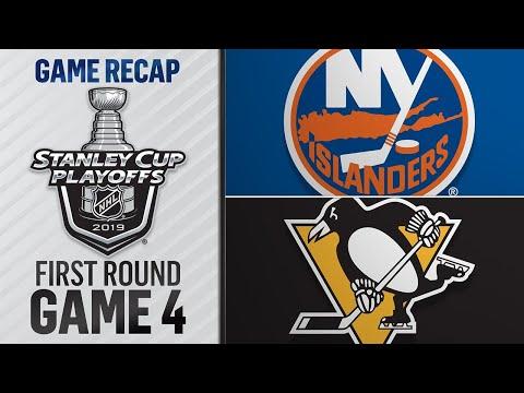 Islanders win Game 4 to complete sweep of Penguins