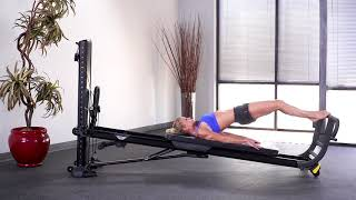 Reverse Plank with Toe Bar