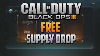 BO3 FREE NEW WEAPONS!! Earn Free new Bribe Weapon Supply Drops with BO3 Contracts!!!