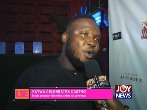 Kaywa Celebrates Castro - Let's Talk Entertainment on JoyNews (4-4-18)