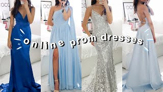 TRYING ON PROM DRESSES ONLINE (JJsHOUSE)