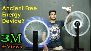 Ancient Free Energy Device Re-created? Original Bhaskara's Wheel
