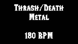 THRASH / DEATH METAL (180BPM) FREE DRUM TRACK