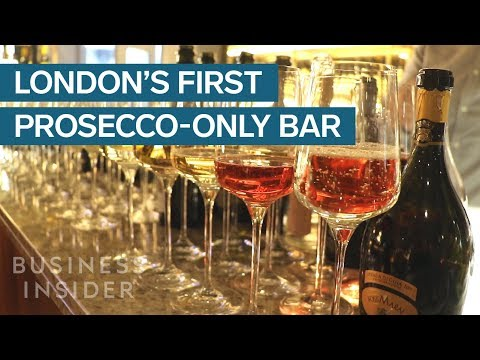Inside London's Prosecco-Only Bar