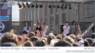 Abandon All Ships - Geeving (Live) SCENE FEST 2011