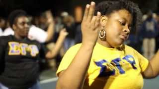 preview picture of video 'CHARLESTON SOUTHERN UNIVERSITY HOMECOMING GREEK STROLL OFF 2013'