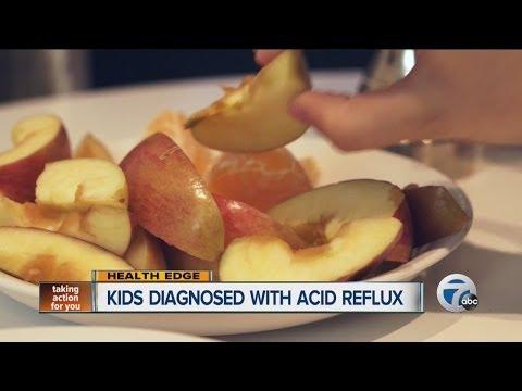 Kids get acid reflux too