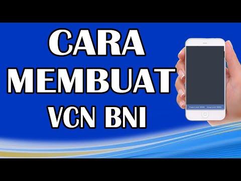 Cara Membuat VCN BNI Mobile Banking