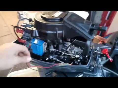 Ремонт и доработка электрики в лодке ПВХ для плм sea pro oth9.9s. Часть 5.