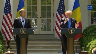 President Trump answers if there are James Comey Tape recordings  6/9/2017