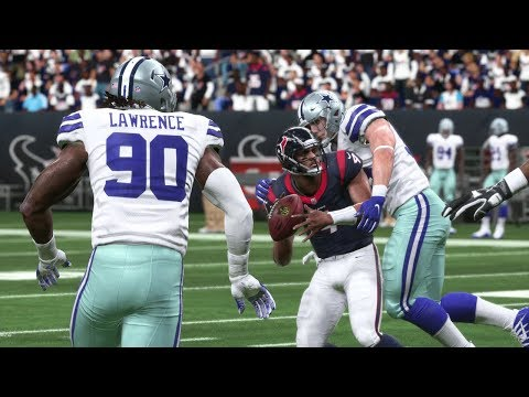 Cowboys vs Texans Full Game - NFL Sunday Football 10/7 NFL Week 5 | Madden 19