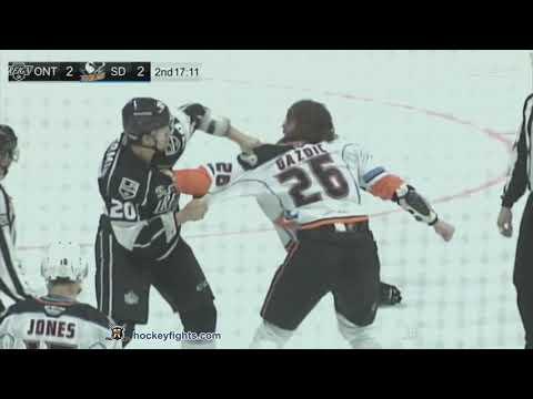 Luke Gazdic vs. Kurtis MacDermid