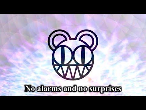 Radiohead - No Surprises (LYRIC VIDEO)