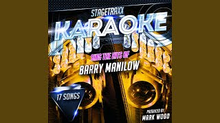 Chattanooga Choo Choo (Karaoke Version) (Originally Performed By Barry Manilow)