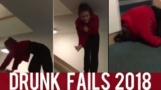 Ultimate Drunk Fails || NEW Funny Compilation! || Year 2018! || PART I