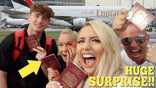 I surprised my FAMILY with a HOLIDAY of a lifetime!! (they had NO idea)