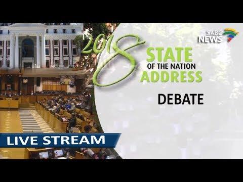 SONA 2018 Debate Part One, 19 February 2018