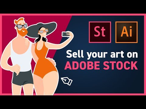 Making Money Online from Selling Stock Illustrations