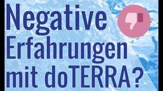 Negative Erfahrungen mit doTERRA?