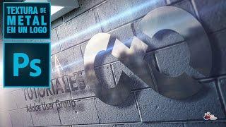 Logo Metalico En Un Wallpaper Con Photoshop By @ildefonsosegura