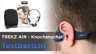 TREKZ AIR im Test - Sehr leichter Bluetooth-Kopfhörer mit Knochenschall-Übertragung