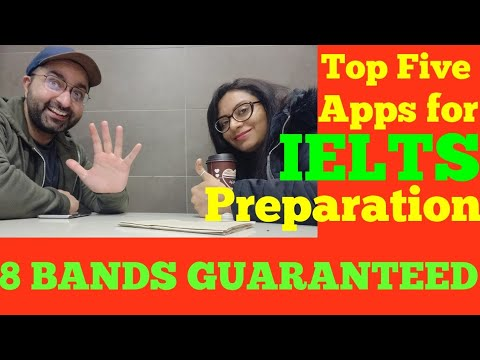 TOP FIVE apps for IELTS preparation || CANADA COUPLE
