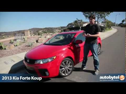 2013 Kia Forte Koup SX Video Review