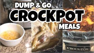 DUMP & GO CROCK POT MEALS | Quick & Easy Family Friendly Slow Cooker Recipes
