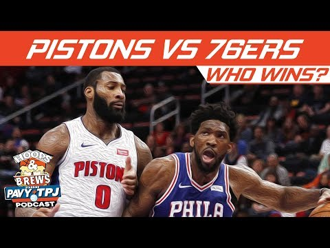 Who Wins Detroit Pistons vs Philadelphia 76ers | Hoops N Brews