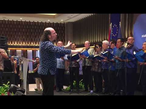 EU Choir at the Europe Day 2019 Reception