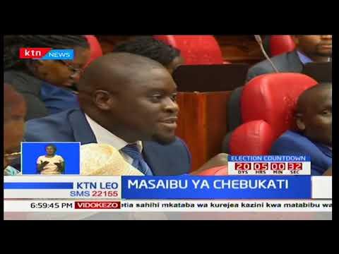 Wafula Chebukati azuiliwa kuwasilisha maoni na mapendekezo ya IEBC