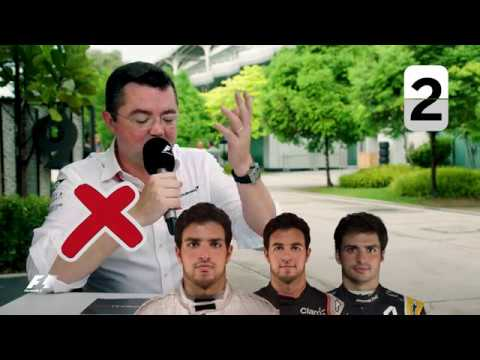 McLaren's Eric Boullier | Grill The Grid 2017 Team Bosses
