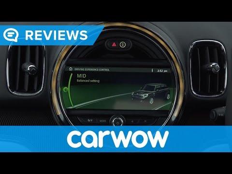 MINI Countryman 2017 MINI Navigation System XL and interior review   Mat Watson Reviews