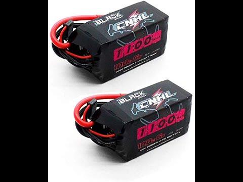 CNHL BLACK SERIES 1100mAh 22 2V 6S 100C lipo da Banggood