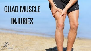 Treatment of a quad muscle injury