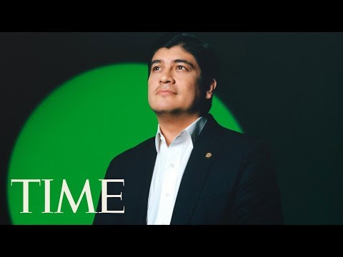 Carlos Alvarado Quesada On How Costa Rica Is Fighting Against Climate Change   TIME 100 NEXT