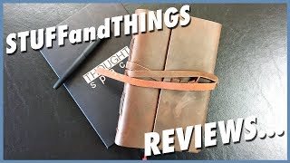Review: ThoughtSpace Handmade Leather Journal + Giveaway