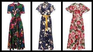 Outstanding Ruffle Dresses Middi Dresses For Women - Awesome Floral Dresses For Women 2020