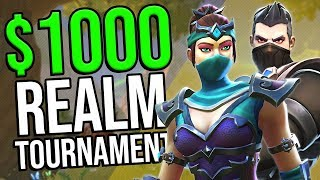 I played in a $1000 Realm Royale Tournament...
