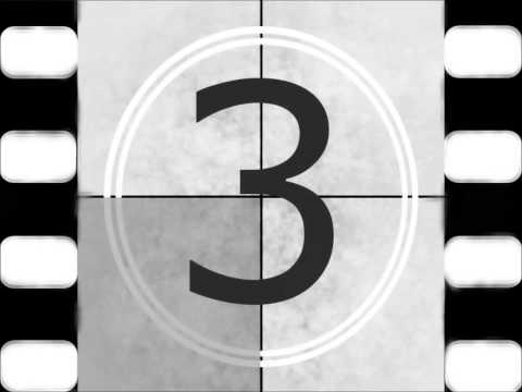 Film Reel 5,4,3,2,1, Countdown-Creative Commons Use Mp3