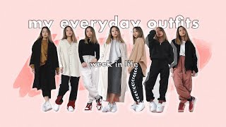 My Everyday Outfits | Week In Life (fall 2019)
