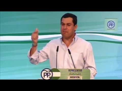 """Juanma Moreno: """"Esto va del futuro de España y de los españoles"""""""