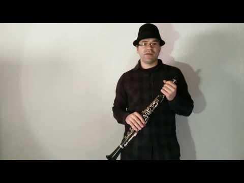 Klarinette lernen - 04 Die ersten Töne auf der Klarinette