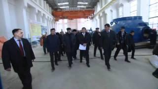 2011 год. Премьер-Министр страны Карим Масимов ознакомился со строительством
